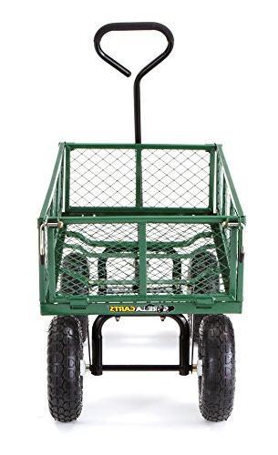 Gorilla Carts Garden Cart Removable Sides, Capacity,