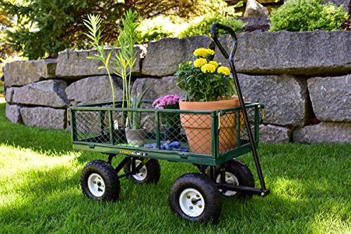 Gorilla Steel Garden Cart Sides, 400-lbs.