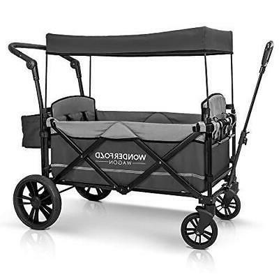Stroller Wagon 2 Gray Push New