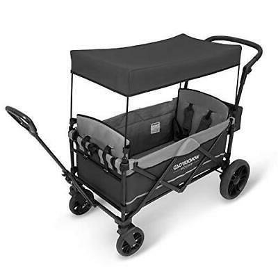 Stroller Baby Kids Gray Push Pull Handle New