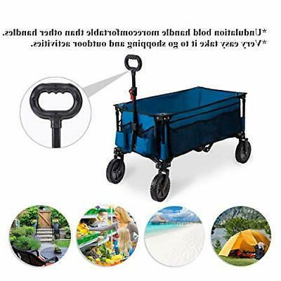 Folding Garden Trolley Collapsible Heav