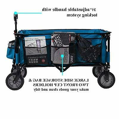 Timber Folding Trolley Collapsible