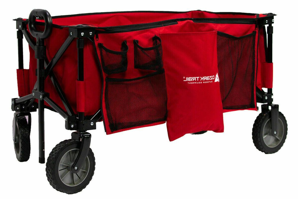 Wagon Cart Folding Garden Buggy Camping