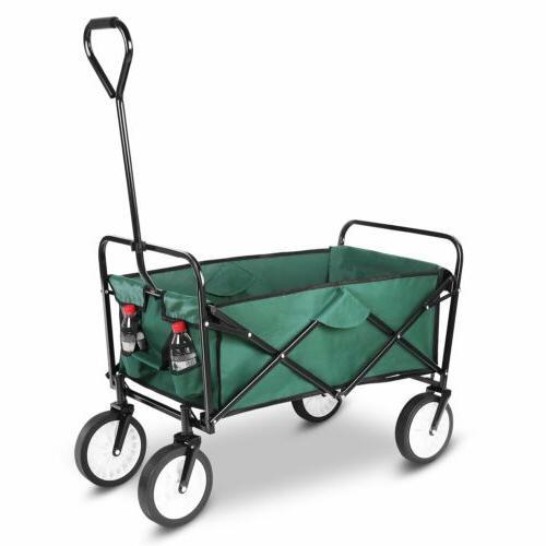 Folding Beach Wagon Outdoor Capacity Pounds