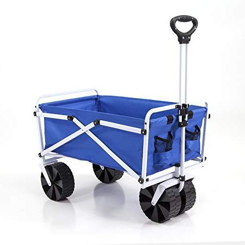 wagon garden folding utility shopping