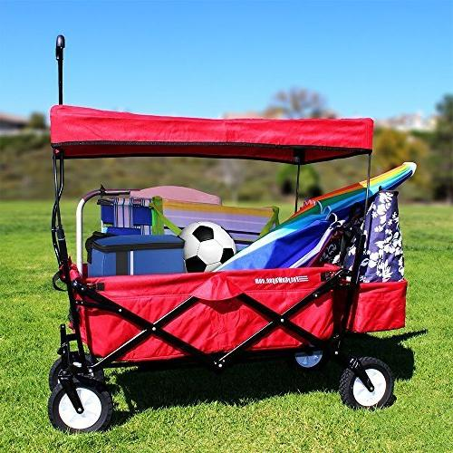 EasyGoProducts Wagon Folding Collapsible Trunk Car