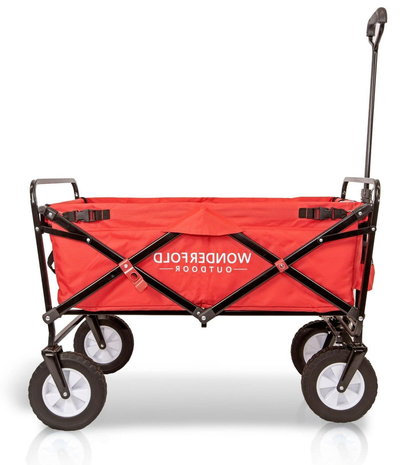 WonderFold Outdoor New Folding Utility Cart