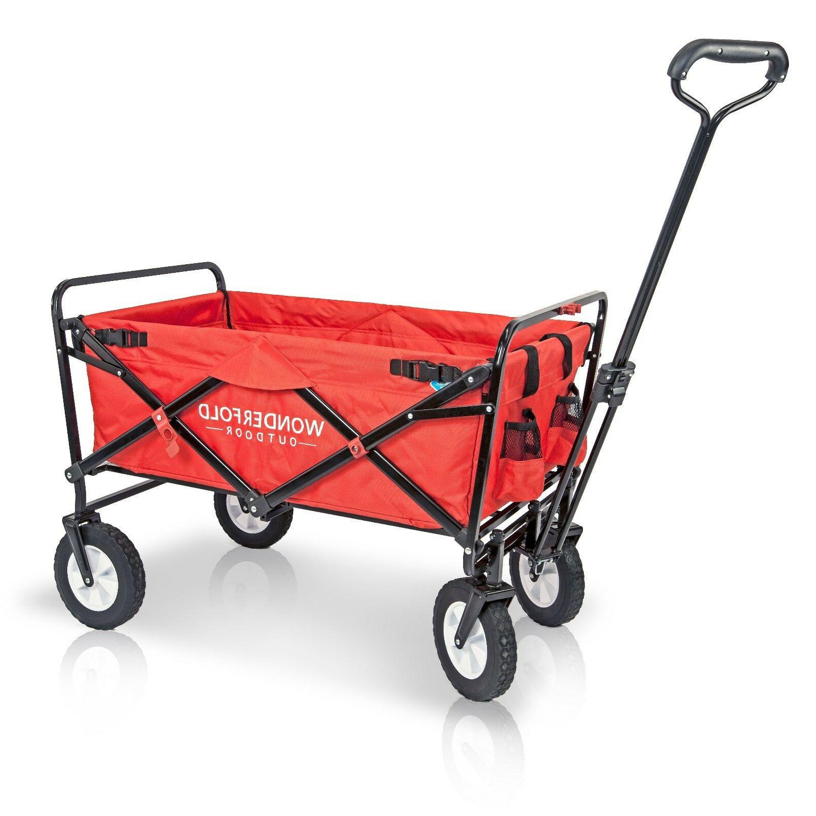 Folding Collapsible Utility Cart