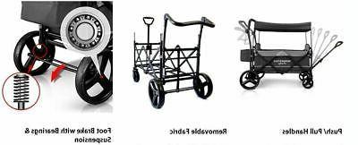 Wonderfold Wagon X2 Pull 2 Stroller Navy