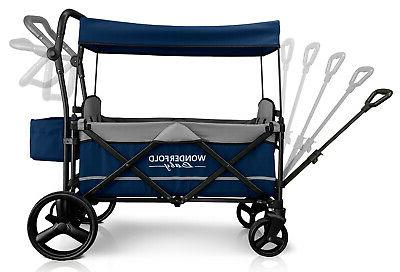 Wonderfold Wagon X2 Stroller Navy