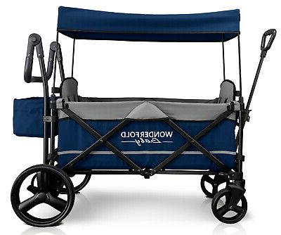 Wonderfold Wagon X2 Pull Stroller NEW