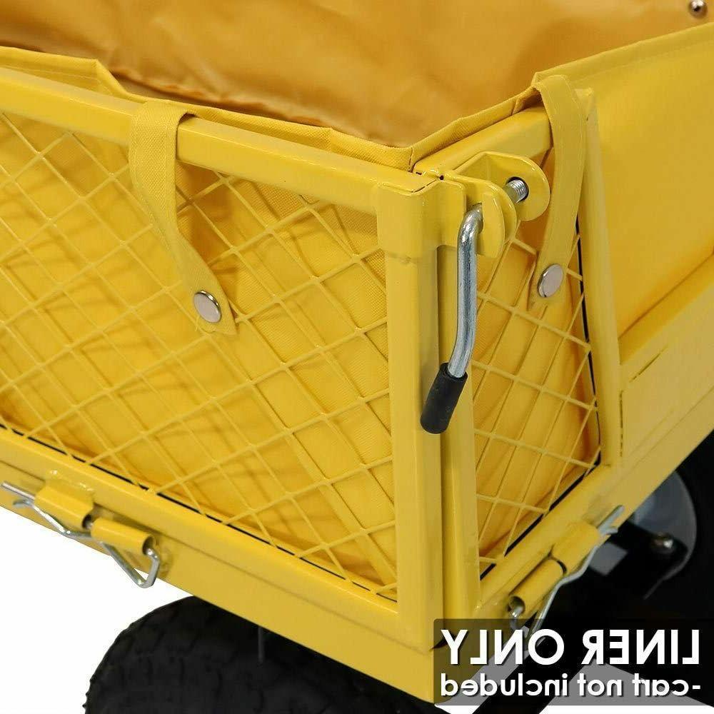 Yard Utility Cart Wagon Liner Folding