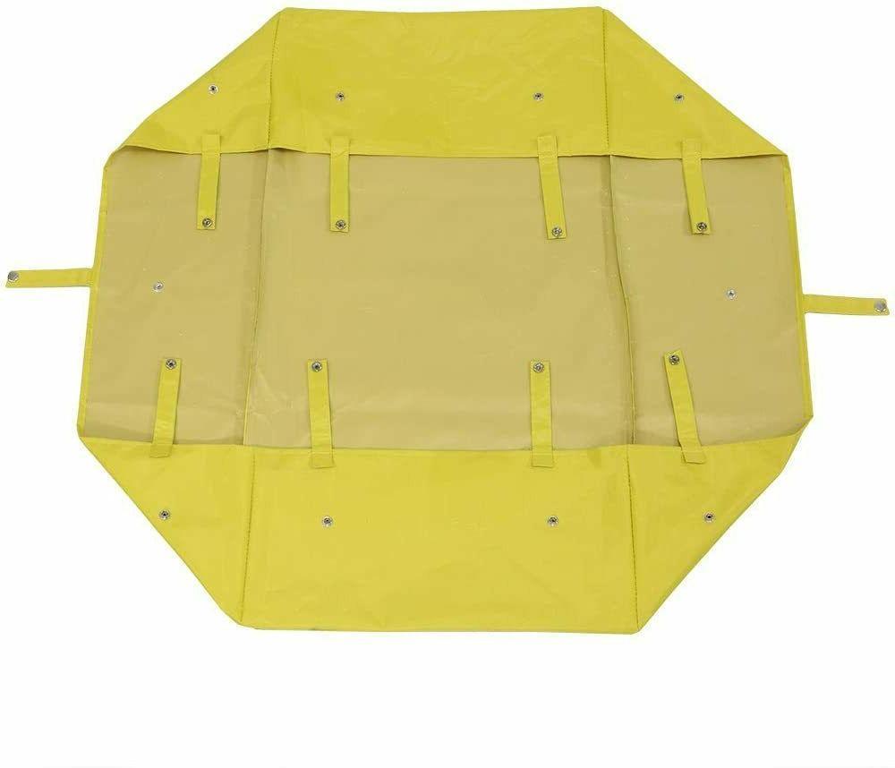 yard beach outdoor yellow utility cart wagon