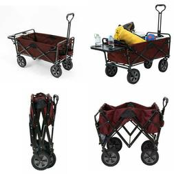 Large Capacity Outdoor Utility Collapsible Wagon Folding Tab