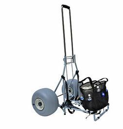 Large Wheeleez Heavy Duty Folding Beach Cart with Big Wheels