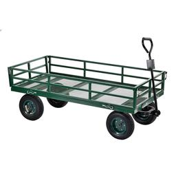 Sandusky Lee CW4824 Steel Utility Garden Cart with Folding S