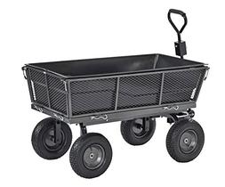 Sandusky Lee CW5024 Muscle Carts Steel Dump Cart with Remova