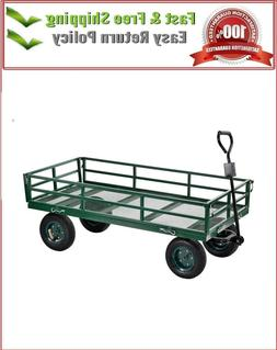 Sandusky Lee Heavy Duty Steel Crate Wagon