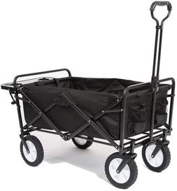 Mac Sports Collapsible Folding Outdoor Utility Wagon with Si