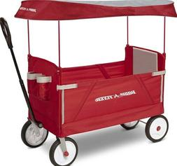 NEW/Radio Flyer 3-In-1 Off-Road EZ Fold Wagon with Canopy -