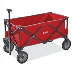 New! Folding Wagon Beach Garden Utility Travel Collapsible C