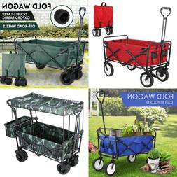 new wagon cart collapsible fold camp trolley