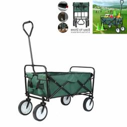 Outdoor Folding Wagon Garden Family Yard Shopping Travel Cam