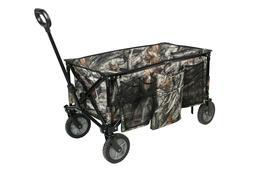 Ozark Trail Camo Quad Folding Wagon, Telescoping Handle, dur