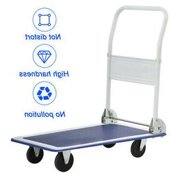 Platform Cart 330lbs Folding Foldable Dolly Push Hand Truck