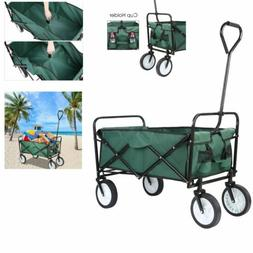 Portable Collapsible Outdoor Utility Wagon Heavy Duty Foldin