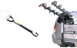 premier hitch mounted 5 bike carrier