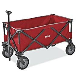Quad Folding Utility Wagon S-21433 NEW IN BOX W/ ULine Logo