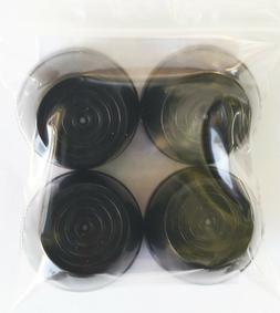 Radio Flyer Plastic & Folding Wagon Wheel Black Hub Caps, 7/