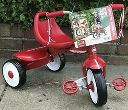Radio Flyer Ready-To-Ride Folding Tricycle, Red / Controlled