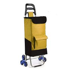 Red Folding Cart Wagon. Cart Transports Products and/or Chil