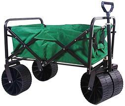 Sandusky Steel Folding Wagon 21 in Outdoor Garden Backyard T