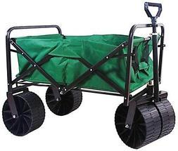 Steel Folding Wagon Sandusky Outdoors Gardening Yard Coated