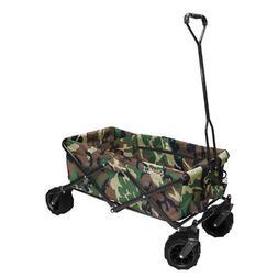 Creative Outdoor All-Terrain Folding Wagon - Camo