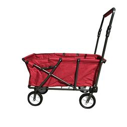Transporter Folding Wagon, Red