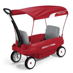 Radio Flyer Ultimate Family Kids Wagon - Red