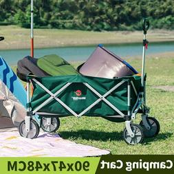 Utility Wagon Camping Cart Folding Cart Hand Truck Dolly For