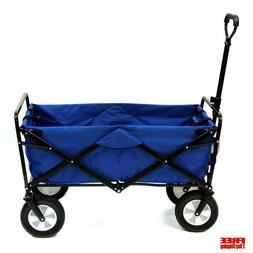 Utility Wagon Collapsible Folding Large Heavy Duty Frame Dur