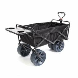 Utility Wagon With Wheels Collapsible Folding Beach Cart, Ma