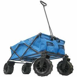 XXXL Monster All-Terrain Folding Wagon | Blue