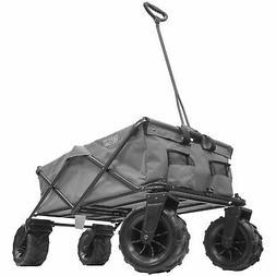 XXXL Monster All-Terrain Folding Wagon | Gray