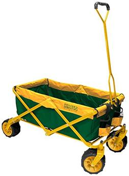 Creative Outdoor Distributor All-Terrain Folding Wagon, Teal