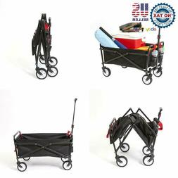 Ysc Wagon Garden Folding Utility Shopping Cart,Beach